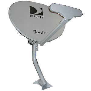 5 LNB Slimline DIRECTV Dish for MPEG4 HD