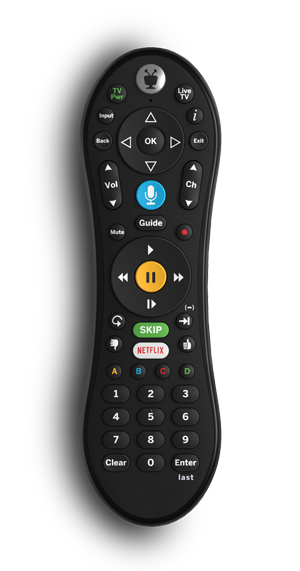 TiVo LUX Remote for TiVo Edge, Bolt and Mini VOX