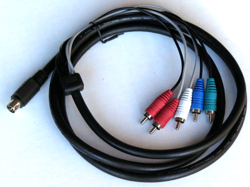 Breakout Component and AV Cable for HR54, H25, C31, C41 and C51