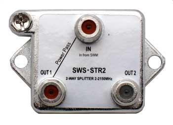 DIRECTV SWM 1x2 Splitter (DIRECTV approved)