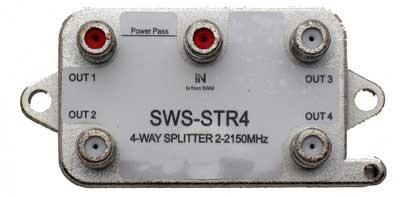 DIRECTV SWM 1x4 Splitter (DIRECTV approved)