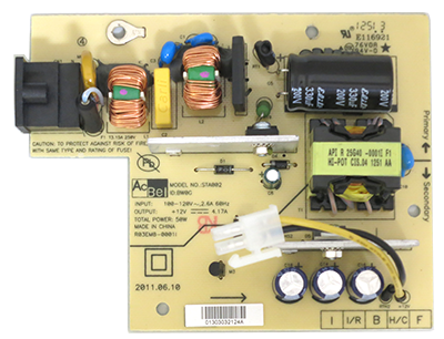 New TiVo Power Supply Board for Premiere4 and Premeire XL4/Elite