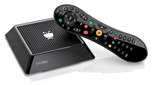 TiVo Mini DVR Companion with TiVo Slide Pro Remote