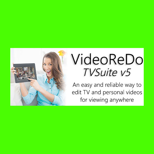 VideoReDo TV Suite V5 Full Version