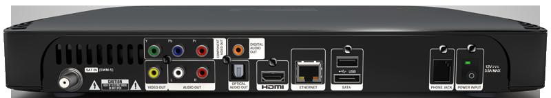 DIRECTV Genie HR44 (6TB External RAID Backup) Server HD DVR