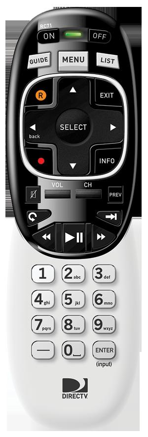DIRECTV RF Remote RC71