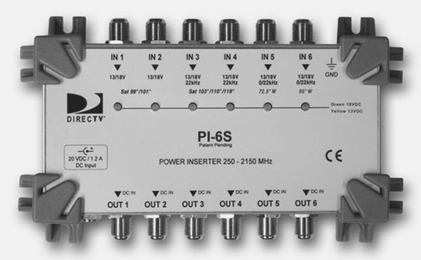 pi 6s full directv swm16 swm 16 single wire multiswitch, amps & parts for directv genie swm wiring diagram at honlapkeszites.co