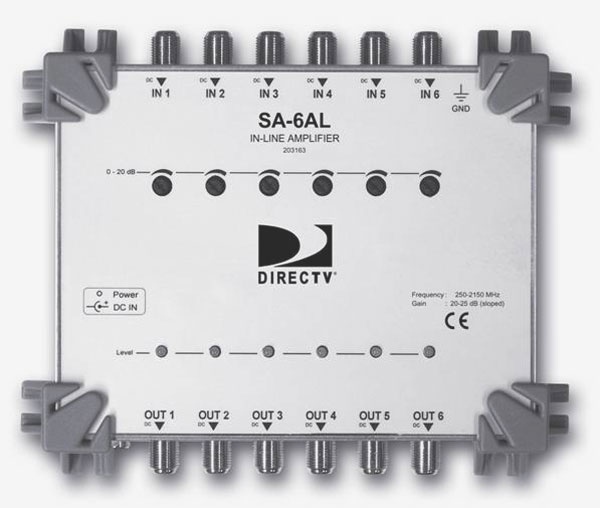 sa 6al full directv swm16 swm 16 single wire multiswitch, amps & parts for directv swm 32 wiring diagram at creativeand.co